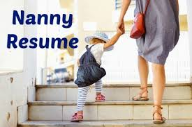 Nanny Job Description On Resume by Sample Nanny Resume