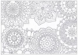 Mandala Flowers Coloring Page Favecrafts Com Mandala Flowers Coloring Pages