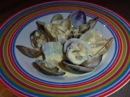 comment cuisiner les palourdes recette palourdes à la crème et au vin blanc sec 750g