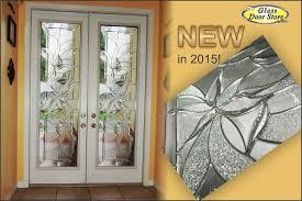 Exterior Glass Door Inserts Renewed Casual And Modern Glass Door Insert
