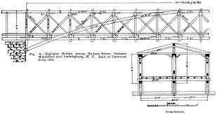 wooden bridge plans american railroad bridges