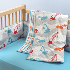 Organic Nursery Bedding Sets by Construction Crib Bedding Totally Kids Totally Bedrooms Kids