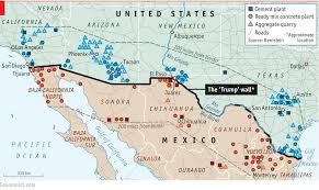 Sinaloa Mexico Map Mexico Calls On Its Builders To Boycott Trump U0027s Wall U2013 Mexico