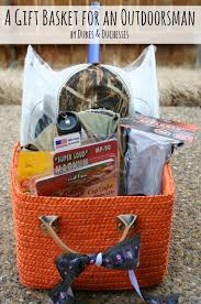 gift basket for an outdoorsman gift basket ideas and easter