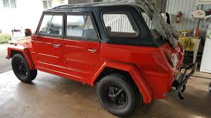 volkswagen thing for sale craigslist 1974 vw thing 1776 v4 manual for sale in hawaii 9k