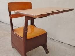 lovely chair with desk attached for your home decorating ideas