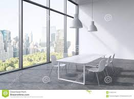 Free Office Furniture Nyc by A Conference Room In A Modern Panoramic Office With New York City