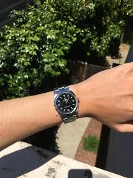 rolex if you small wrists i highly recommend the 36mm