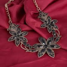 vintage crystal statement necklace images Statement necklace gothic jewelry crystal necklaces pendants jpg