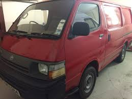 used toyota hiace panel van in ballymena county antrim down