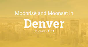 Colorado How Long Does It Take To Travel To The Moon images Moonrise moonset and moon phase in denver php