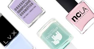 list of 5 free vegan and cruelty free nail polish brands