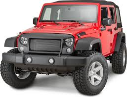 jeep sahara red jeep grilles u0026 accessories quadratec