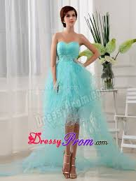 pretty graduation dresses fast shipping high low prom dress for
