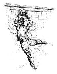 soccer drawings theartoflax