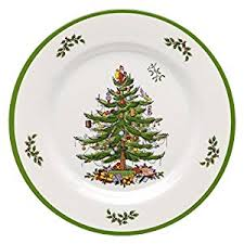 spode tree melamine dinner plate set of 4