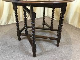 dining room unique oak barley twist drop leaf table remodel