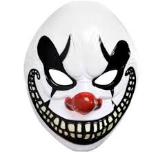 scary mask freak show scary clown mask party city