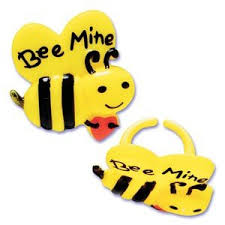 bumble bee cake toppers 12 bee mine bumble bee cupcake rings cake toppers