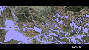 bayou map bluechart g2 maps the louisiana bayou with high res satellite