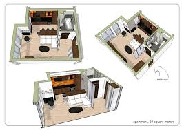 Small Apartment Floor Plans One Bedroom Download Apartment Designs And Floor Plans Home Intercine