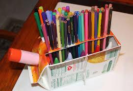 Craft Desk Organizer Piggy Bank Craft Inhabitots