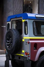 land rover bespoke tailor made land rover defender for paul smith u2014 urdesignmag