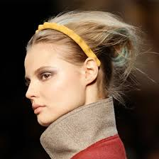 headbands for hair thinning fendi models wear streaked hair and colorful headbands at 2011