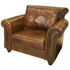 Brown Leather Accent Chair Brown Leather Arm Chair Foter