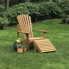 Adirondack Bench Craftsman Adirondack Chair And Ottoman