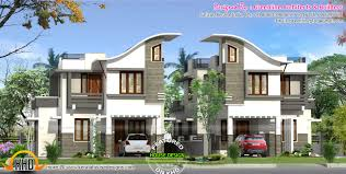 2200 square foot house plans twin house design kerala home design and floor plans mansion