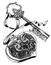 best 25 key tattoos ideas on tattoos of