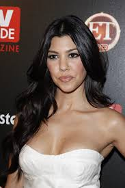 kourtney kardashian high and college education background
