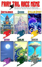 Fairy Tail Memes - fairy tail race meme by xaviarluvya on deviantart