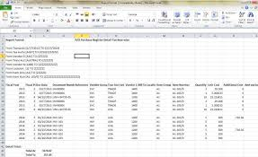 monthly sales report template excel purchase register report sage 300 erp tips tricks and components as this report gets printed in excel sheet you have the liberty to format the report draw pivots sort filter etc the report according to your