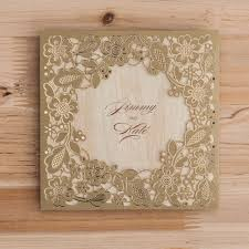 sikh wedding cards brown laser cut sikh wedding card diamond wedding cards