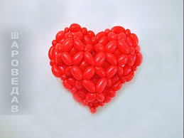 valentines ballons heart 3d from balloons s day