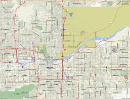 Az City Map Scottsdale Arizona Travel Info Roadrunner Lake Resort