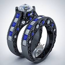 doctor who wedding ring doctor who inspired 6 25cts and tardis blue sapphire