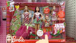 a perfect christmas target exclusive gift set barbie and her