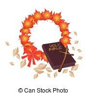 eps vector of holy leaves with christmas bow creative abstract
