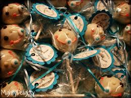 mighty delighty how to make baby boy cake pop favors