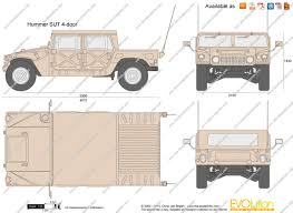 4 door jeep drawing the blueprints com vector requests hummer sut 4 door