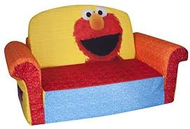 toddler couch chair kids sofa lounger seat sesame street elmo