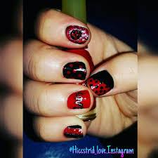 miraculous ladybug nail art ladybug uñas pinterest ladybug