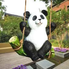 the koala panda statue garden ornaments animal sculpture crafts