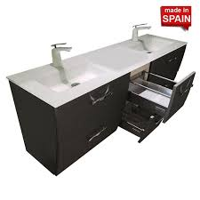 london 60 in double bathroom vanity socimobel color forging