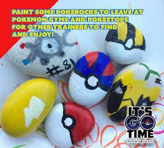 Painted Rocks For Garden by 5 Easy Pokemon Go Art Projects For Kids Of Creativity Slashgear
