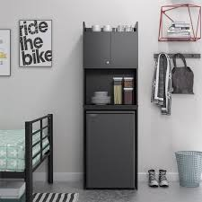 small kitchen cabinets walmart refrigerator storage unit black stipple
