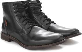s leather boots shopping india levi s soldier boy boots buy black color levi s soldier boy